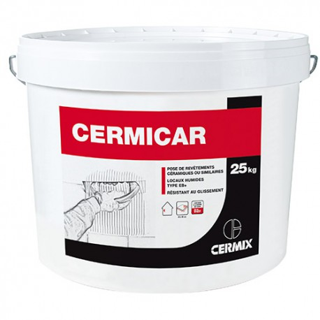 Pot 25 Kg colle carrelage CERMICAR
