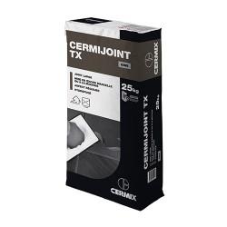 Joint carrelage CERMIJOINT TX 25kg Gris clair