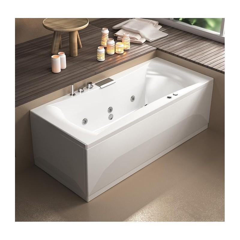 baignoire chromoth rapie 170x75 bahama color progibat. Black Bedroom Furniture Sets. Home Design Ideas