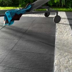 Carrelage sol VOLCAN 30x60 Noir